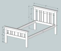 best 25 diy bed frame plans ideas on pinterest diy bed bed