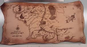leather map middle earth leather map brass engine productions