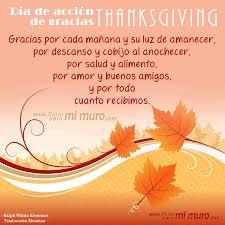 imagen de thanksgiving día de acción de gracias cosas para mi