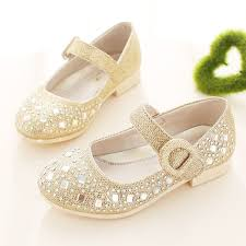 wedding shoes for girl 2016 fashion sparkling children wedding shoes