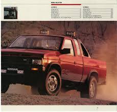 nissan hardbody 1988 nissan hardbody truck d21 dealer brochure us market nicoclub