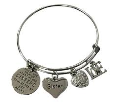 charm bracelet infinity images Infinity collection sister charm bangle bracelet side jpg