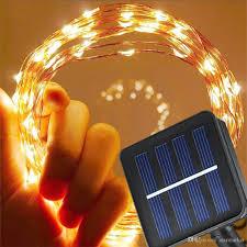 solar power led lights 100 bulb string 12m 100 led solar powered copper wire string fairy lights 8 lighting