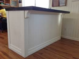 Building A Reception Desk Diy Custom Reception Counter Before After