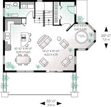 cottage style house plan 2 beds 1 50 baths 1325 sq ft plan 23 505