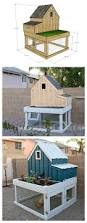 Build A Small House by Ana White Build A Small Chicken Coop With Planter Clean Out