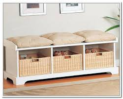 shoe storage bench with cushion appealing shoe storage bench with