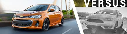 chevy sonic vs ford focus 2017 chevy sonic vs 2017 ford focus model comparison el paso tx
