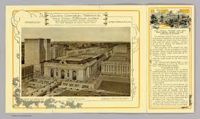 grand central terminal david rumsey historical map collection