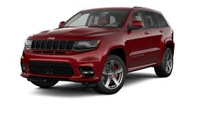 red jeep jeep grand cherokee srt luxury performance suv