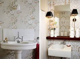 bathroom wallpaper ideas 45 elegant bathroom with wallpaper ideas small bathroom
