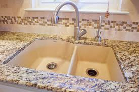 Blanco Granite Sinks White Raised Kitchen Sink Workstation With - Blanco silgranit kitchen sink