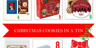 10 christmas cookies in a tin holiday hostess gifts