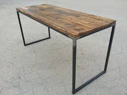wood and metal writing desk wood metal desk elegant interque co for 10 fernandotrujillo com