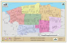 Map Testing Ohio by Lakewood City District