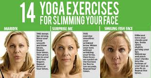 how to make a double chin look less noticable eith hair yoga exercises for slimming your face