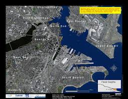 Map Of Boston Harbor by Flood Maps Boston Harbor Now Boston Harbor Now