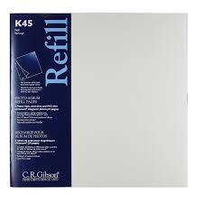 cr gibson photo album k45 unimount magnetic sheets for p45 albums