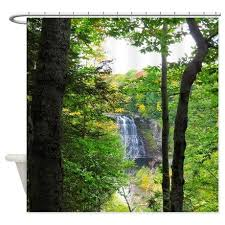 Shower Curtains With Trees Nature Shower Curtains 100 Images Nature Shower Curtains For