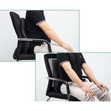 fauteuil de bureau confortable pour le dos remycoo respirant oreiller coussin lombaire dos chaise bureau
