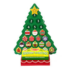 u0026 doug christmas wooden advent calendar