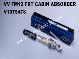 volvo truck parts volvo fm12 frt cabiin absorber 1075478 ajm auto continental corp