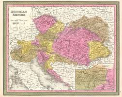 Map Of Vienna File 1850 Mitchell Map Of Austria Hungary And Transylvania