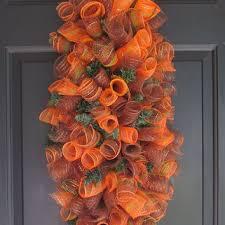 deco mesh ideas shop deco mesh spiral wreath on wanelo
