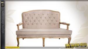 habillage canapé canapé inspiration style louis xv avec habillage capitonné en