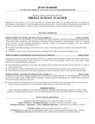 Example Resume For Teachers by Job Wining Teaching Experience Sample Resume For Middle