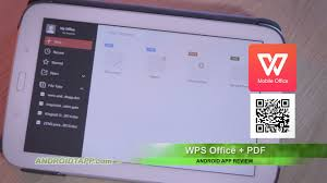 templates for wps office android wps office pdf android app review youtube