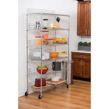 Commercial Wire Shelving by Trinity 6 Tier Wire Shelving Rack 48