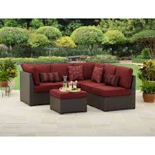 Outdoor Sectional Sofa Better Homes And Gardens Valley 3 Outdoor Sectional