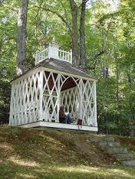 Summer Garden Houses - the downeast dilettante waiting for summer follies in new