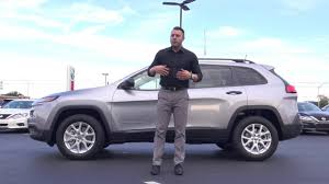 sport jeep cherokee 2017 jeep cherokee sport features review youtube