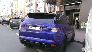 Land Rover Range Rover Sport Svr 1 December 2016 Autogespot