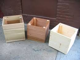 Easy Way To Build A Toy Box by The 25 Best Wooden Planters Ideas On Pinterest Wooden Planter
