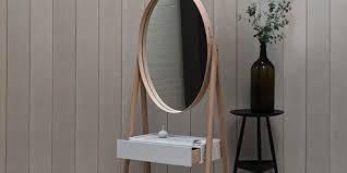 miroir de chambre sur pied miroir sur pied design iona