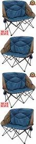 Double Seat Folding Chair Camping Furniture 16038 Folding Camp Chair Outdoor Seat Heavy