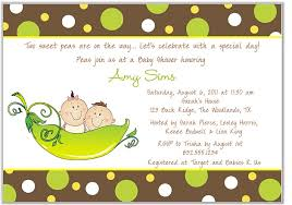 2 peas in a pod two peas in a pod baby shower invitations boy girl baby shower