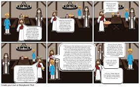 the last supper storyboard by benie
