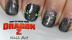 how to train your dragon nail art youtube