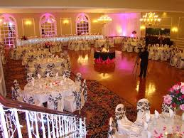 party halls in houston tx wedding reception table setup table with wedding cake