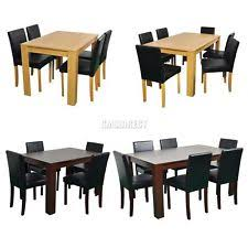 Ebay Uk Dining Table And Chairs Dining Table And 6 Chairs Furniture Ebay