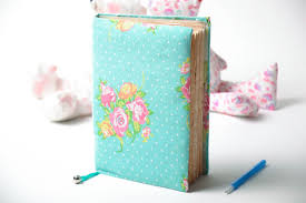 Notebook Cover Decoration Designer S Notebook With Soft Cover And Bookmark Handmade Gift