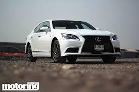 toyota lexus dubai 2013 lexus ls460 f sport motoring middle east car news reviews