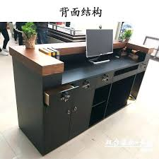 Simple Reception Desk Industrial Reception Desk Bethebridge Co