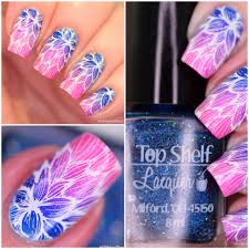 nail art top shelf lacquer gradient polish and paws