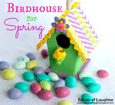 a cute birdhouse for spring by echoes of laughter skip to my lou