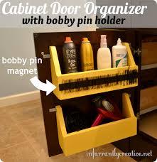 Cabinet Door Organizer Bathroom Cabinet Door Organizer